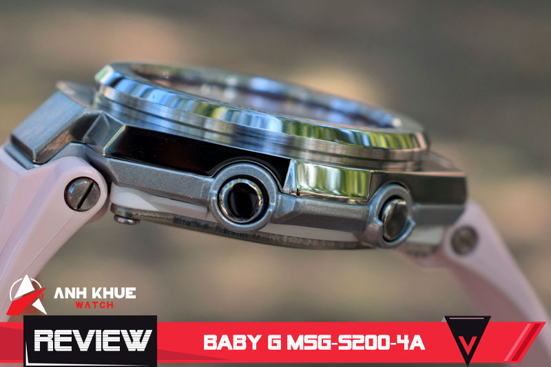 Review đồng hồ Baby-G MSG-S200-4A (Phần 1)